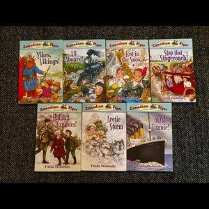 Canadian adventure 7 books 4,9,10,13,14,16…